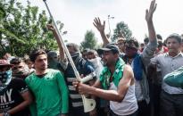 Erőszakossá válhatnak a migránsok