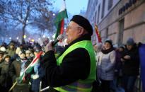 Tüntetés a Vasmű úton