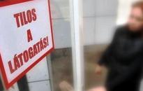 Péntektől látogatási tilalom lesz a kórházban