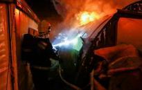 Tűz volt egy családi házban