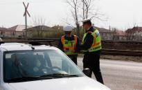 A sebességellenőrzés megyei eredményei