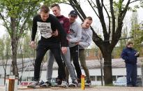 Katasztrófavédelmi verseny százhúsz diákkal