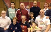 Családi aranyak a masters bajnokságon