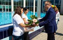 Életmentés az élményfürdőben - Polgármesteri elismerés