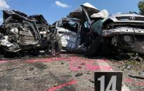 Súlyos baleset Adonynál, ketten meghaltak