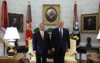 Trump elismerte Magyarországot stratégiai szövetségesének