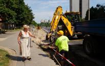 Buszöböl, lépcsők, parkolók - Zajlanak a felújítások