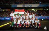 Universiade-győztes vízilabdázók