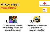 Magyar Vöröskereszt: komoly harc a koronavírus ellen!