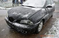 Baleset a hóban – egy sérülttel