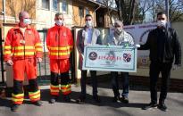 Dunaújváros kenyere: rendhagyó adományátadó, nemes gesztusokkal