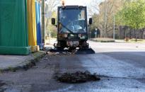 Folytatják a takarítást – a József Attila utca következik