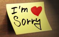 Te hogyan kérsz bocsánatot?