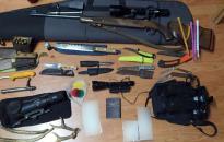 Brutális arzenált találtak a dunaújvárosi orvvadásznál