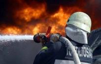 Szalmabálák égtek Dunaújvárosban