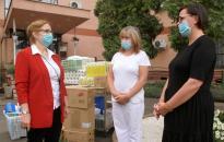 Hankook: fertőtlenítőt adtak – ajándékba