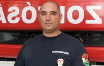 Kitüntették a hős dunaújvárosi tűzoltót