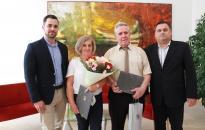 Városháza: díjátadó ünnep – a köz szolgálatáért
