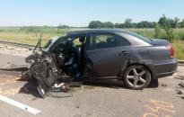 Halálos baleset a 62-es főúton – rácalmási férfi az áldozat (webgalériával!)