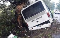 Bűncselekmény és baleset: árokban landolt a lopott busz! (webgalériával!)
