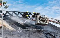 Megmentették a tűzoltók a Makovecz-templomot