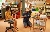 """DSTV: """"Robotika a könyvtárban"""""""