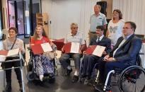 Mozgáskorlátozottak egyesülete: négy elismerés a közgyűlésen