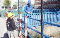 Kiszélesítik a Papirgyári út végét,  már stabil a Petőfi iskola hídja