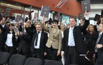 Oklevéllel a kézben - diplomaátadó ünnepség a főiskolán