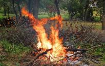 Tűzgyújtás: még érvényben a tilalom