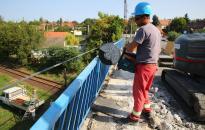 Elkezdődött a hídfelújítás