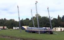 Épül a cirkusz