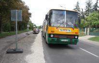 Ideiglenes buszmegálló a Magyar úton