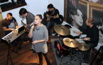 Hajdu Klára és a Balogh Gyula Quartet adott koncertet a Művészben