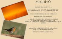 Bemutatkozik a Panoráma fotóklub