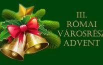 Advent első vasárnapja a Rómain - Torta, tea, finom falatok