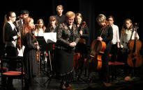 A zeneiskola újévi koncertje