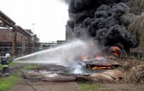 Tűz volt a Vasműben