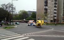 Ismét mentőhelikopter szállt le a Római városrészben
