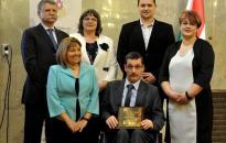 Elismerték a város esélyegyenlőségi munkáját
