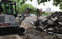 Parkolófelújítás - Összehangolt munkálatok két ütemben