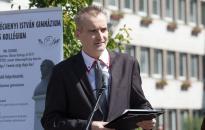 A polgármester is köszöntötte a Széchenyi ballagóit