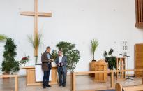 A város szakrális és kulturális tere - Húszéves az evangélikus templom