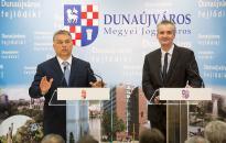 Orbán Viktor Dunaújvárosban