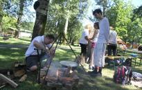 Rudas Jamboree - Mozgás és főzőcskézés a kempingben