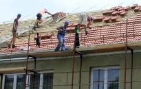 Felújítják a zeneiskola tetőszerkezetét