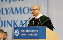 Az első egyetemi tanévnyitó a campus történetében