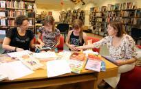 Az olvasás világnapja a könyvtárban