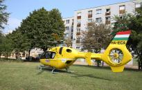 Mentőhelikopter szállt le a Kallós mögött
