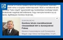 Embedded thumbnail for Rendkívüli sajtótájékoztatót tartott Szabó Zsolt a Gombos-ügyről